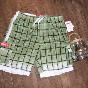 Other - ew Mens extra large red board swim trunks shorts